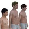 Художник создал модели тел мужчин разных стран