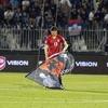 Дрон сорвал футбольный матч между Сербией и Албанией