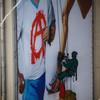 Дерзкий плакат на Камергерском переулке