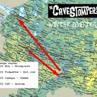 The CAVESTOMPERS! - Зимний тур 2010