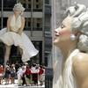 Памятник Мэрилин Монро в Чикаго