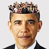 Выборы-выборы: Звездный фотоальбом Барака Обамы