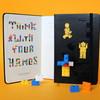 Новая серия Moleskine LEGO