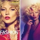 Kate Moss for W september