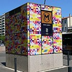 Разноцветное метро
