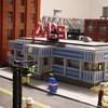 Улицы Нью-Йорка из конструктора LEGO