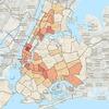 Полиция Нью-Йорка показала карту преступлений