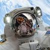 Бортинженер NASA сделал «селфи» в открытом космосе в канун Рождества