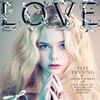 Эль Фэннинг снялась для обложки Love
