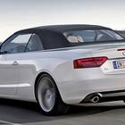 Audi A5. Кабриолет зимой