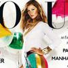 Обложка: Жизель Бундхен для британского Vogue