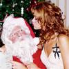 Архивная съёмка: Рождественская съёмка Эллен фон Унверт для Numero, 2004