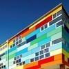 Разноцветная школа от австралийских архитекторов