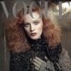 Обложки Vogue: Карен Элсон для итальянского и Кэндис Свейнпол для бразильского