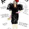 Иллюстрации икон моды от Джоаны Авильес