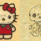 Скелеты мультяшек