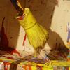 Уличная инсталляция превращает прохожих в живописцев