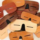 Узкоглазые деревянные очки