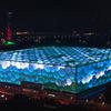 Бассейн в Пекине транслирует эмоции интернет-пользователей