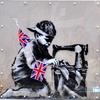 Лондонцы требуют вернуть вырезанную из стены работу Бэнкси