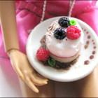 Еда для Barbie и украшения для девочек