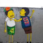 Граффити художники Os Gmeos о творческом пути