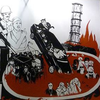 Куратор выставки закрасила картину с чиновниками в котле