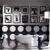 Черно-белые фотографии в интерьере