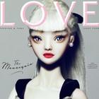 8 обложек журнала Love