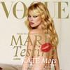 Марио Тестино снял Кейт Мосс для обложки юбилейного номера бразильского Vogue