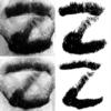 Дизайнер выбрил все буквы алфавита на бороде