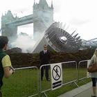 В центре Лондона упало НЛО – Великобритания в шоке