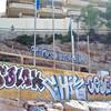Граффити и стикеры Салоу, Испания