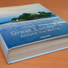 Толстенная книга о ста крутых отелях мира
