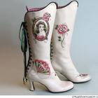 Иллюстрации тату-художницы Анжелики Ауткемп для обуви