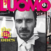 Обложки: L'Uomo Vogue и Black