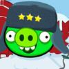 Angry Birds в шапке ушанке. И в Кремле