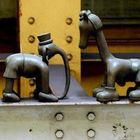 Скульптуры в Нью-Йоркском метро
