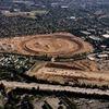 Репортёр показал стройку кампуса Apple с высоты птичьего полёта