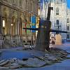В центре Милана из-под асфальта всплыла подводная лодка