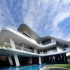 «Трехпалубная» вилла от Aamer Architects