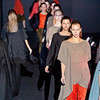 Cyrille Gassiline FW 2011: объемные дафклоты и юбки-годе