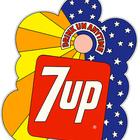 Графика 70-х the great hippie 7Up