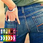 Apple-юмор iPod nano, пара джинсов и строчка текста
