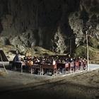 Школа в пещере, в графстве Ziyun. Китай