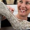 Новозеландский дизайнер создала бриллиантовые туфельки для Золушки