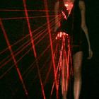 Лазерные платья Хуссейна Чалаяна