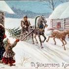 Новогодняя и рождественская открытка