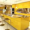 Современная желтая кухня фирмы Snaidero