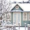 10 домов из зимней сказки